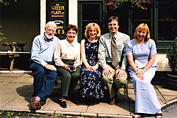 Colin and Friends - Scan of photo