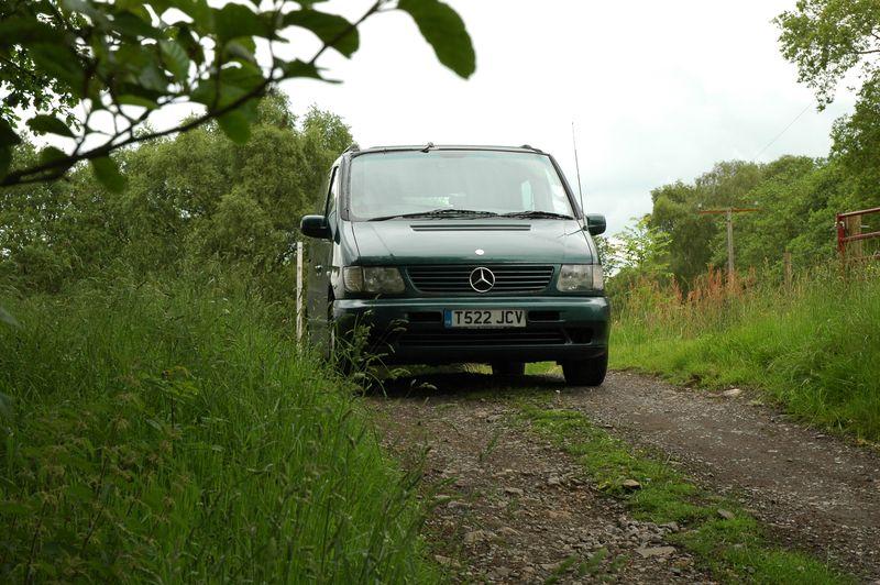 8 Van stuck