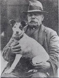 24. Fred with dog, no gun