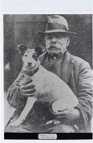 24. Fred with dog, no gun
