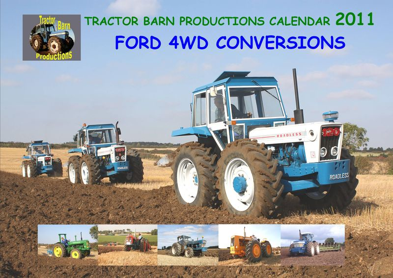 CALENDAR FORD TRACTOR CONVERSIONS 2011 FRONT COVER