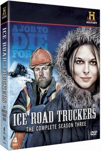 Ice Road Truckers season three DVD cover