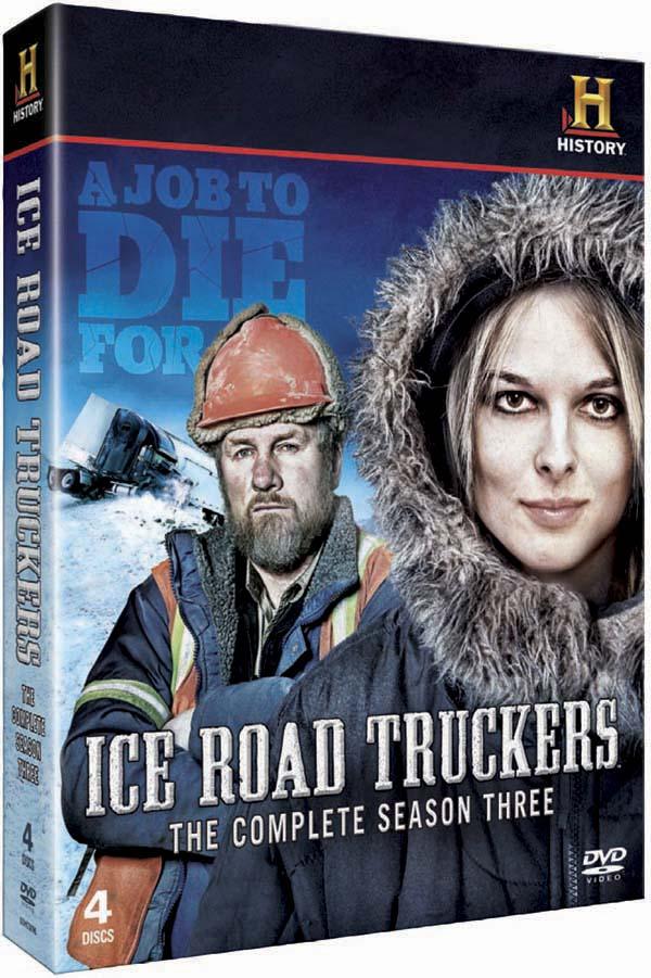 Ice Road Truckers season three DVD cover