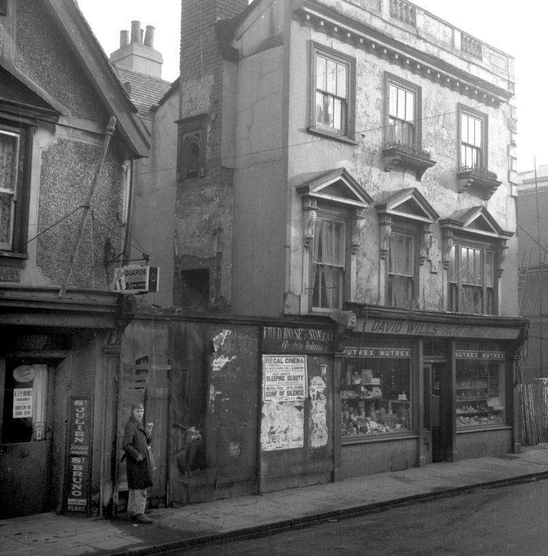 David Wills's baker shop, Harwich 1960