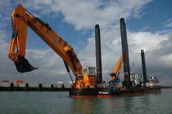 Backacter BA1100 dredger
