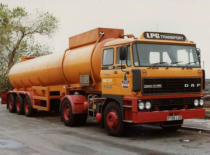 DAF 2800 LPG Transport