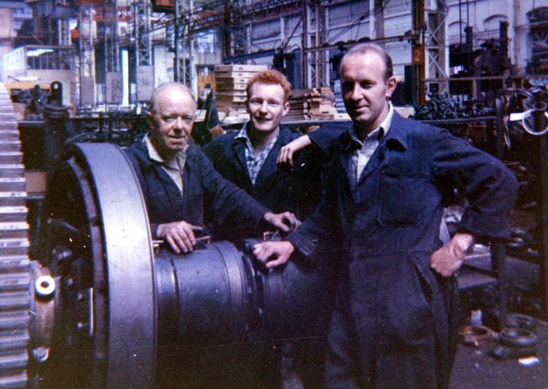 Drumshaft gang 1962