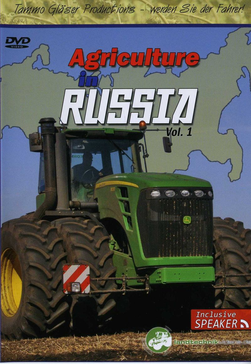 Front cover Ag in Russia