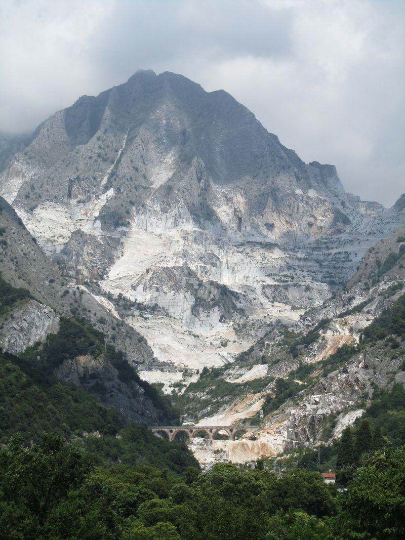 Carrara mining area