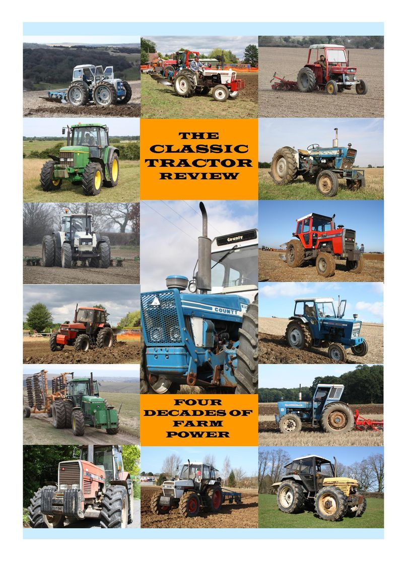 CLASSIC TRACTOR REVIEW FRONT COVER