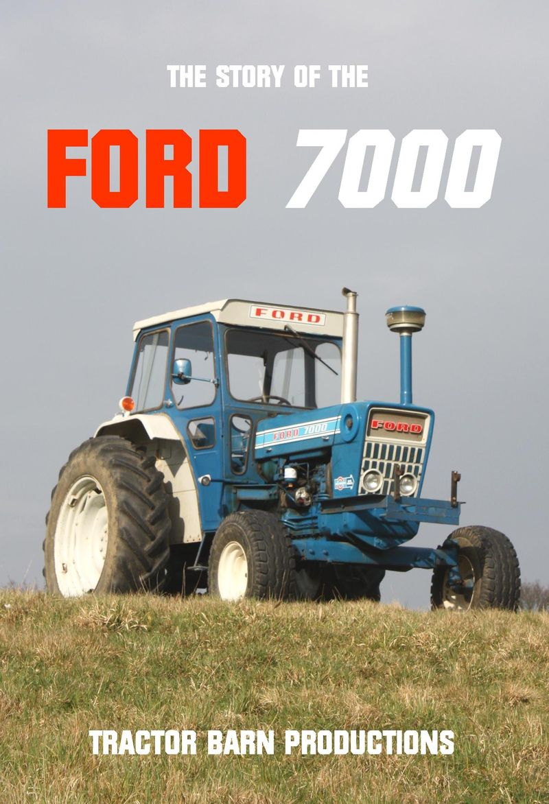 FORD 7000 1st front cover