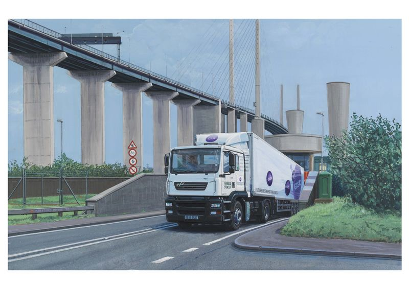 Dartford Crossing ERF