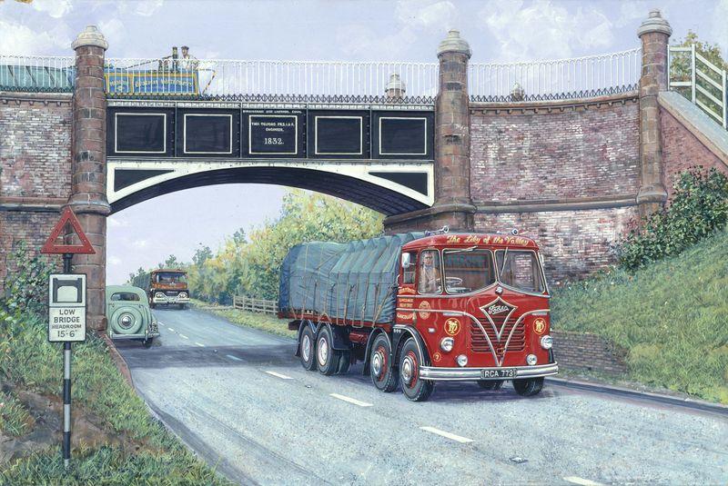 Stretton Aqueduct, A5 Foden