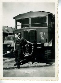 Patrick Doyle with his AEC Matador
