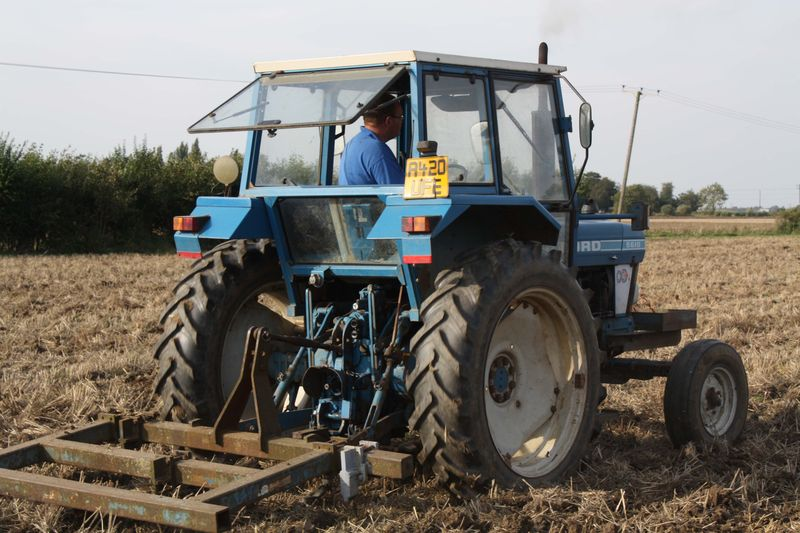 Ford 5610 AP and Ransomes cultivator for DOE 1