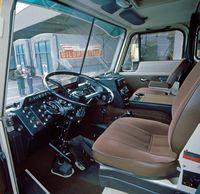 Volvo cab interior update 1975