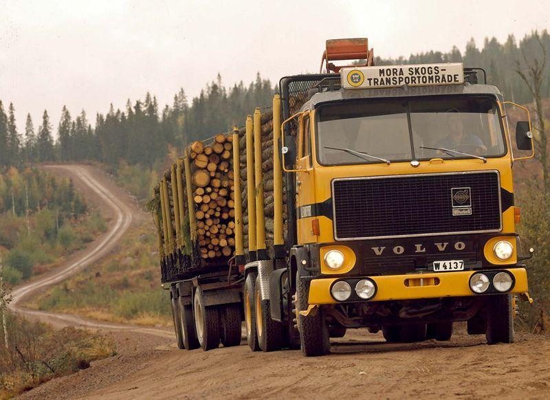 Volvo F89 logger