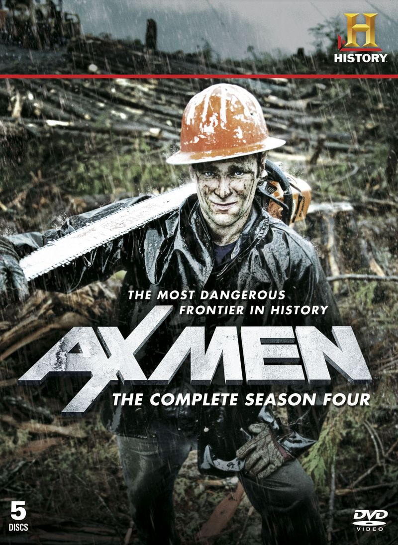 Axmen 4 front cover