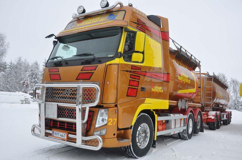 Volvo XXL bulk tanker