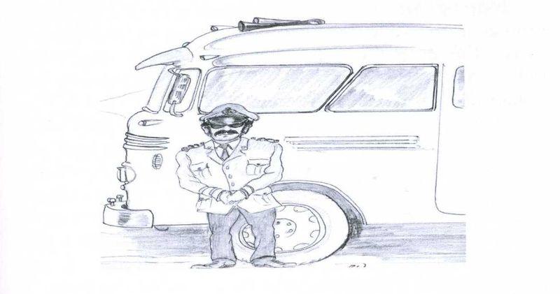 A 'kamikaze' coach driver by Brian Wales