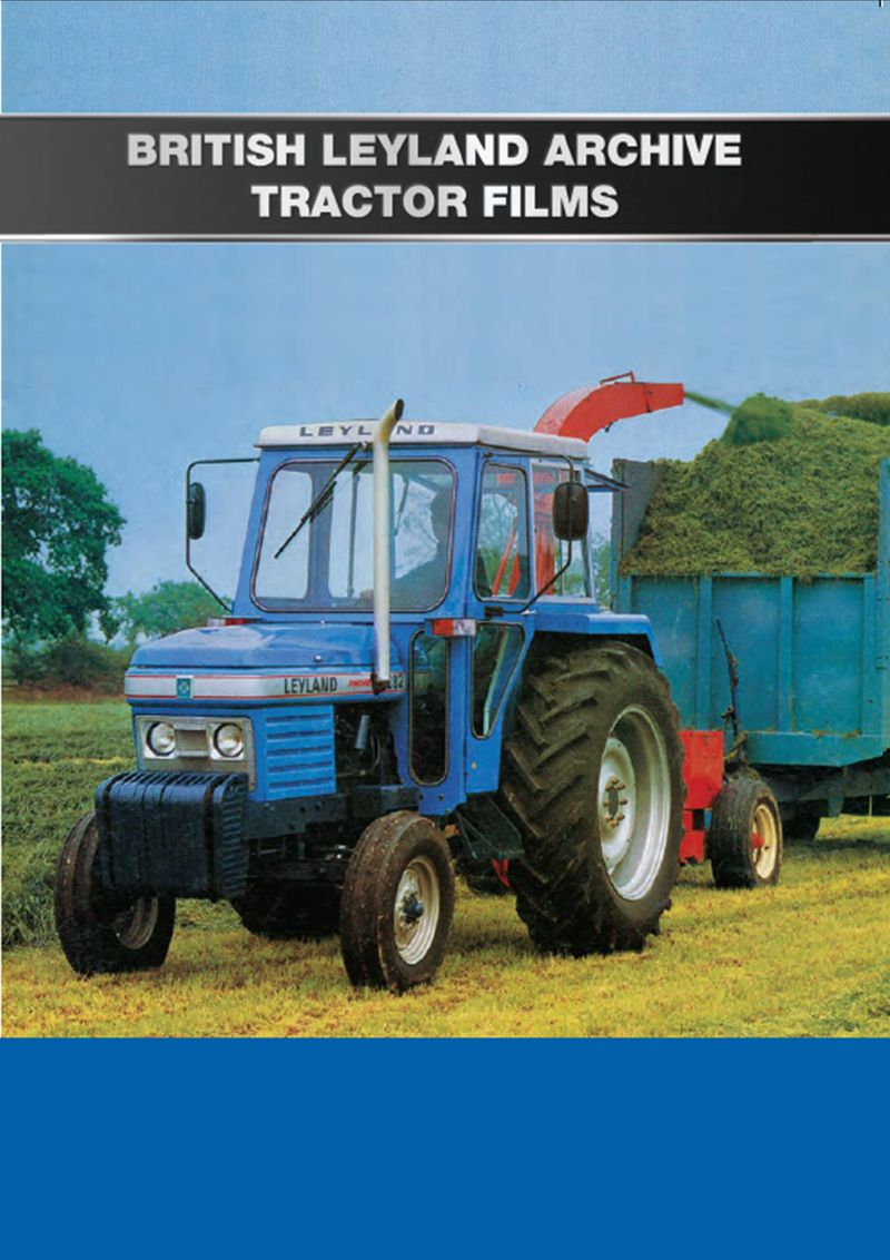 BRITISH LEYLAND ARCHIVE TRACTOR FILMS COVER FRONT