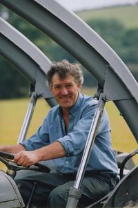 Harold Beer during the filming of Ferguson on the Farm Part 2