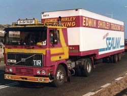 Volvo F12 Edwin Shirley Trucking