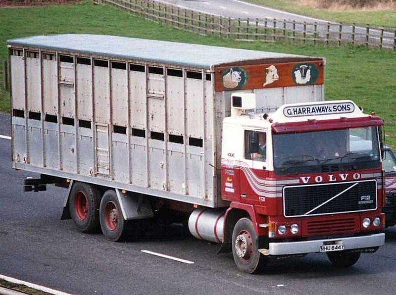 Volvo F12 G Harraway & Sons