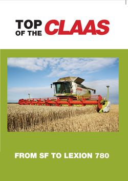 TOP OF THE CLAAS FRONT COVER