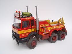 IVECO 6x6 recovery truck model