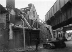Hymac 480 on demolition work
