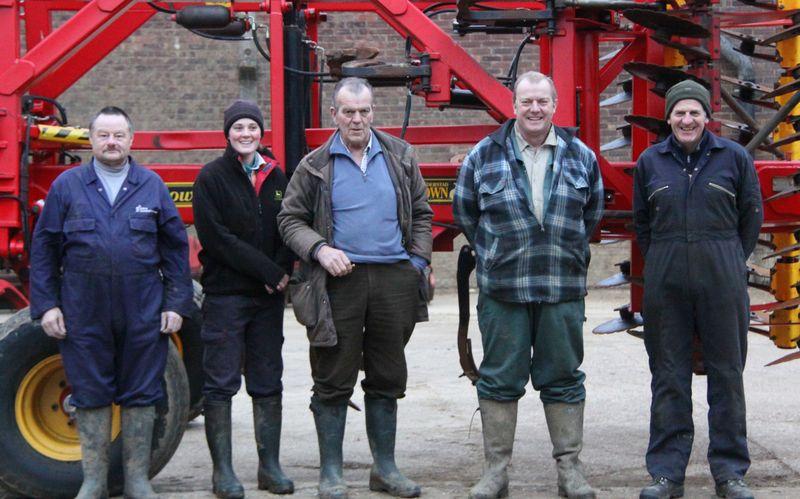 The Loose Hall Farm team