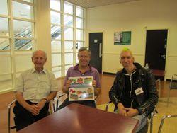 Farming in Miniature authors launch at Sandown Park Sept 2013
