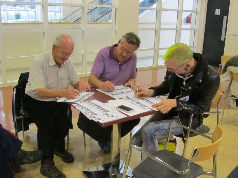 Farming in Miniature authors signing