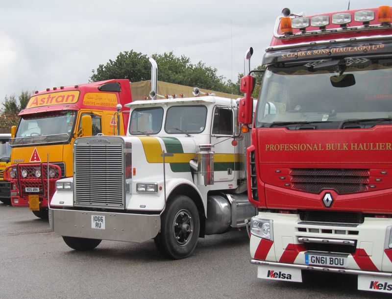 Astran and Freightliner in line-up